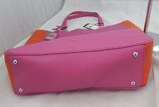 Lauren Ralph Lauren Acadia Tote Pink Orange $118