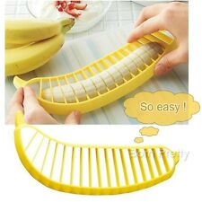 1Pc Fruit Salad Kitchen Gadgets Tools Banana Slicer Chopper Vegetable Tool