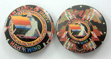 HAWKWIND 'In Search of Space' Vintage Button Badges * Pin Badges *