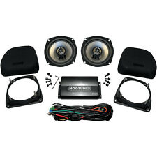 HogTunes Lower Fairing Speaker Kit with Amp for Harley Touring 98-13