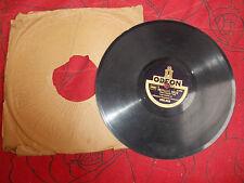 orchestre constantino: Nicaragua / grisante folie - odéon 78 tours vinyle