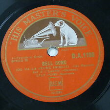 78rpm LILY PONS delibes lakme BELL SONG