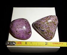 DINO: 2 Beautiful STICHTITE Polished Stones - 31 gr. Grade A Material