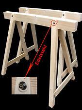 Profi- Stützbock,2 Stück Arbeitsbock, Holzbock,Gerüstbock,2 neue, Zimmererbock,