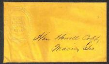 WASHINGTON & NEW ORLEANS TELEGRAPH CO SOUTHERN LINE COVER HOWELL COBB GEORGIA