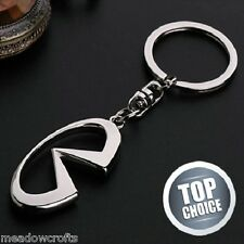 Infinity Key Ring NEW - Silver Chain Keyring