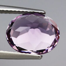 NATURAL WONDERFUL PURPLE COLOR AMETHYST OVAL 3.83 Ct GEMSTONE