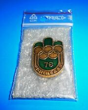 1976 OLYMPIC GAMES MONTREAL Original Collectible USSR CCCP RUSSIA PIN BADGE RARE