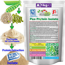 1000g (2.2 lb) Pea Protein Isolate Powder - Free Shipping