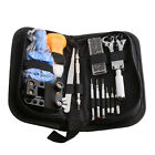 Watch Repair Tools Kit Opener Link Remover Spring Bar Band Pin w/ Carrying Case