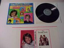 Rock Pop Music Record ~PARTRIDGE FAMILY w/Bookcover~ Vintage Vinyl LP ALBUM 1971
