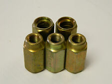 NEW LOT OF 5 PARKER P-42 3/8 x 1W HYDRAULIC FITTING NO - SKIVE P42