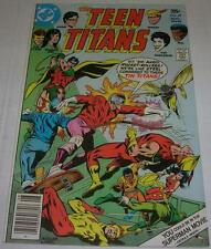 TEEN TITANS #49 (DC Comics 1977) HARLEQUIN JOKER'S Daughter appearance (FN/VF)