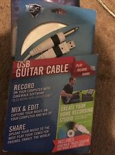 First Act USB Guitar Cable Digital Recording System Includes Cakewalk MX901 NEW!