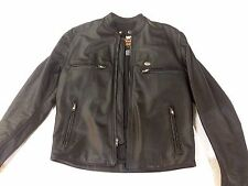 HARLEY DAVIDSON Black Leather Jacket. Mens Medium SALE!!!
