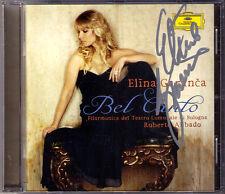 Elina GARANCA Signiert BEL CANTO Bellini Donizetti Rossini CD D'Arcangelo Abbado