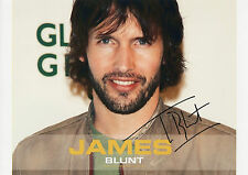 JAMES BLUNT Signed 12x8 Photo YOU'RE BEAUTIFUL & GOODBYE MY LOVER COA