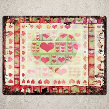 PP0099 Rustic Love Valentine's Day Gift Parking Plate Home Cafe Wall Decor Sign