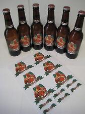 Breaking Bad - Schraderbrau  - 12 oz Beer Bottle Labels - [ Set of Six ]