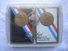 1984 Los Angeles Games of the XXIIIrd Olympiad - Olympic Gold Ltd Ed. Card Decks