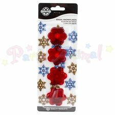 JEM Sugarcraft Cutters ANGEL SNOWFLAKES -Xmas cake decoration/Equipment Set of 4