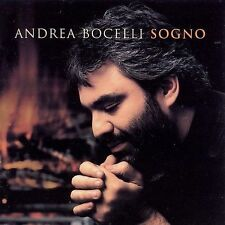 "ANDRE BOCELLI SOGNO SEALED First CD 1999 With BOLLA WINES ""As Heard"" Sticker WOW"