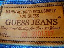 Ladies Womens Girls GUESS JEANS  US Sz 28 in, Suit Aus/UK 10 EC Distressed