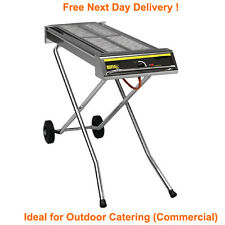 Professional Large Folding Propane LPG Gas Barbecue Commercial Outdoor BBQ Grill