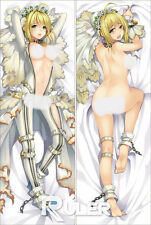 Anime Dakimakura Pillow Case Fate/stay night Saber SA065 (150*50cm-Peach Skin)