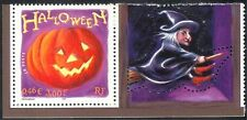 France 2001 Halloween Greetings/Pumpkin/Witch/Magic//Animation 1v + lbl  n37367n