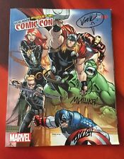 2013 NYCC Exclusive Comic Book (Signed by Kidrobot Artists Ron English +) Marvel