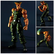 "Super Street Fighter IV - GUILE Play Arts Kai 9"" Action Figure Square Enix"