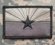 ARIZONA STATE FLAG TACTICAL US ARMY BADGE ACU VELCRO® BRAND FASTENER PATCH