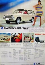 Mazda 1200 Familia Estate 1969-71 Original UK Sales Brochure Pub. No. A46907N