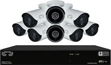 Night Owl - 8-Channel, 8-Camera Indoor/Outdoor Wired 1080p 2TB DVR Integrated...