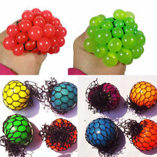 1Pc Novel Squishy Mesh Abreact Ball Squeeze Anti Stress Toy For Kids Play Gift