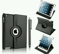 In Pelle Rotazione A 360 GRADI SMART STAND CASE COVER PER APPLE I PAD MINI