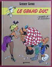 LUCKY LUKE  LE GRAND DUC  BD EO  MORRIS & GOSCINNY