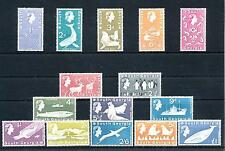 [48577] South Georgia 1963 Definitives Whales Seal Penguins MLH