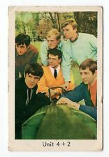 1960s Swedish Film Star Card British Concrete and Clay Pop Band Unit 4 + 2