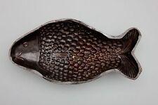 Große Fisch-Form Hafner-Keramik, Elsaß, um 1800