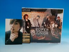 CD+DVD+Photo card SUPER JUNIOR 4th Album BONAMANA Japan License ver. Eunhyuk