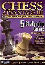 Chess Advantage 3 - PC Encore Software Video Game