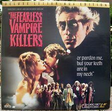 THE FEARLESS VAMPIRE KILLERS SHARON TATE ROMAN POLANSKI LASERDISC