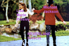 LISA MARIE PRESLEY MICHAEL JACKSON NEVERLAND RANCH 4/18/95 ELVIS PHOTO CANDID