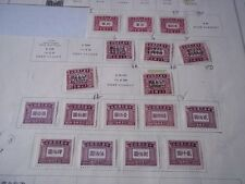 China, (Republic of China) postage due stamps. 1943 - 49.