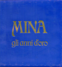 """MINA """" GLI ANNI D'ORO """" BOX 3 LP VINILE SIGILLATO (BLU)  RICORDI AORL 38527 RARO"""