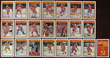 1990-91 NHL O-Pee-Chee Red Army Inserts Full Set 22/22