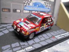 Simca Talbot Samba Rallye 1984 Monte Carlo #165 delecour shell Ixo Altaya 1:43