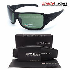 TAG Heuer RACER 2 POLARIZED SUNGLASSES BLACK/GREEN 9202 911 67 RACING CYCLING